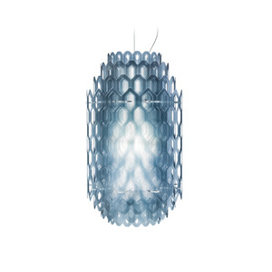 SLAMP - CHANTAL SUSPENSION BLUE SMALL 팬던트조명