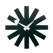 Vitra - Asterisk Clock, black