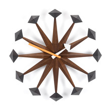 Vitra - Polygon Clock, walnut